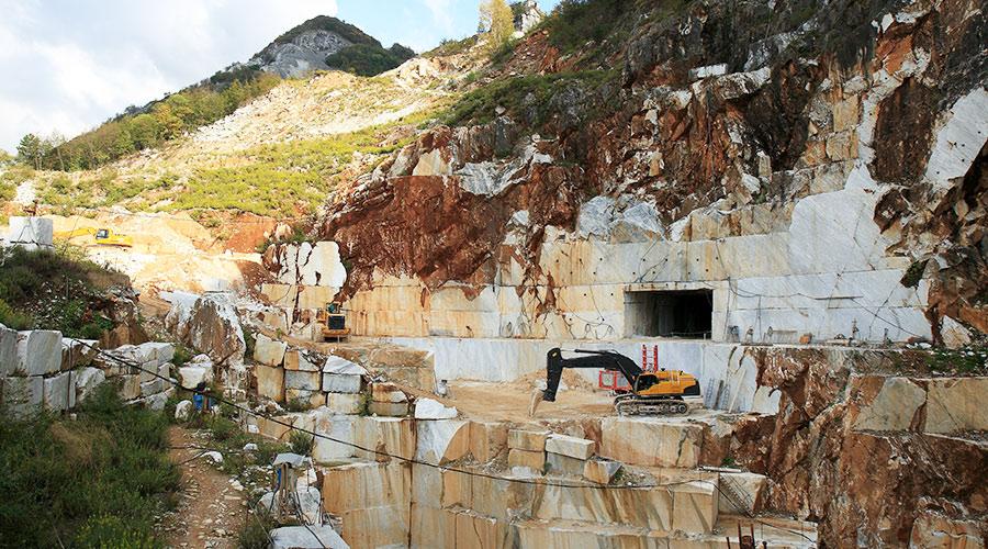 natuursteen groeve